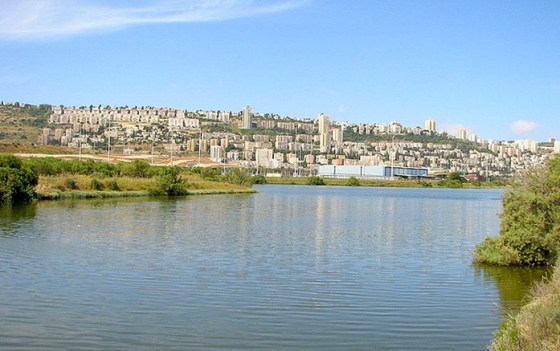 kishon river haifa bay israel