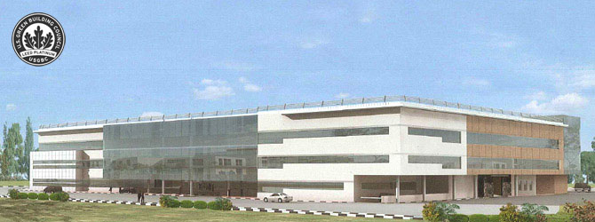 Largest LEED Platinum Government Building Opens in Dubai