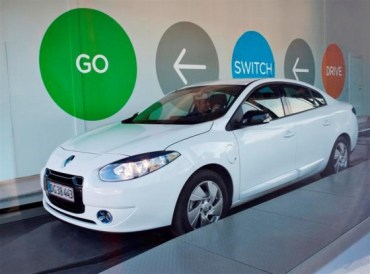 Rent an All-Electric Better Place Family Car in Israel