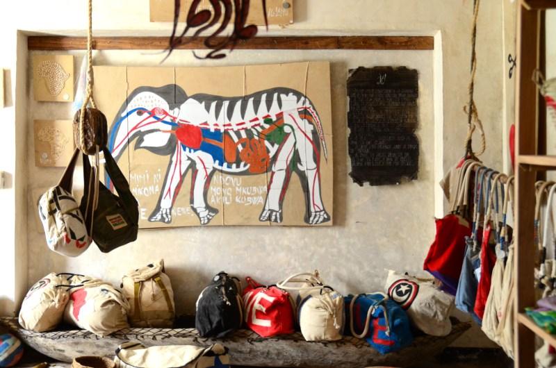 Ali Lamu Upcycles Weathered Dhow Sails into Inspiring Art