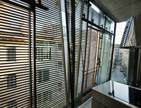 Architecture, Alatas Architecture, Istanbul, timber louvers, Turkey, daylighting, urban design