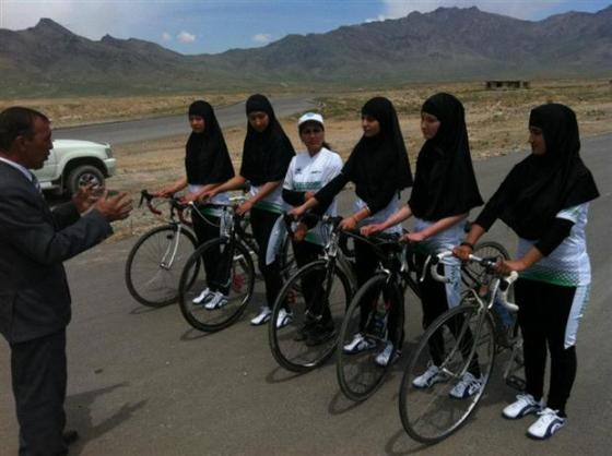 Afghan Women National Cycling Team