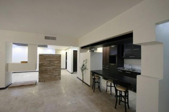 Mahallat Apartment, Iran, Aga Khan, recycled stone, natural materials, daylighting, natural ventilation, 2013 Architecture Awards, sustainable design, green design