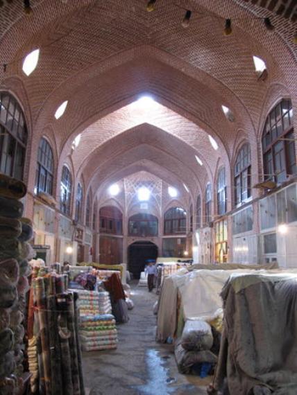 Tabriz bazaar Ceilings