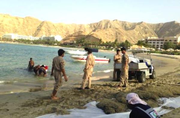 Ship With Black Bitumen Sinks off Oman's Pristine Coast