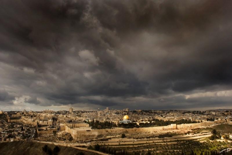 Palestinian Schoolkids Green-Up Jerusalem's Holy Valley
