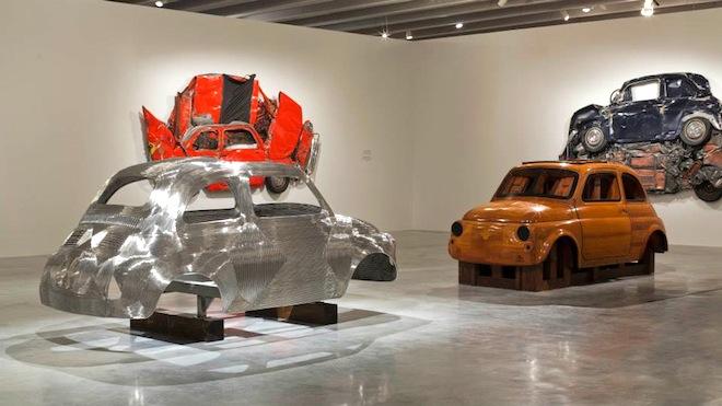 Ron Arad, Holon Design Museum, Tel Aviv, Israel, Crushed Fiats, Art,