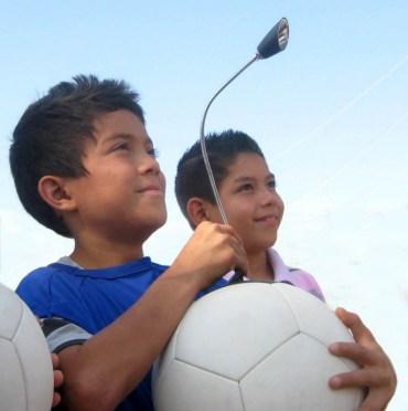 Jordan's US Embassy Sees Power in SOCCKET Balls