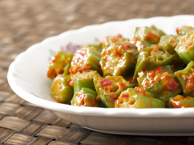 Yummy Okra Stewed In Tomato Sauce Recipe