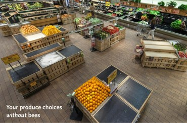 A Food Market Without Bees (Whole Foods Photo)
