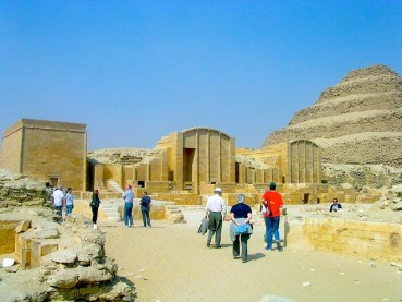 Cintec Restores Egypt's Oldest Pyramid with Water-Filled Bags