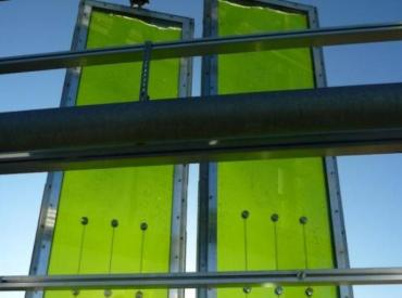 Powering Buildings With Bioreactor Algae Skin Facades