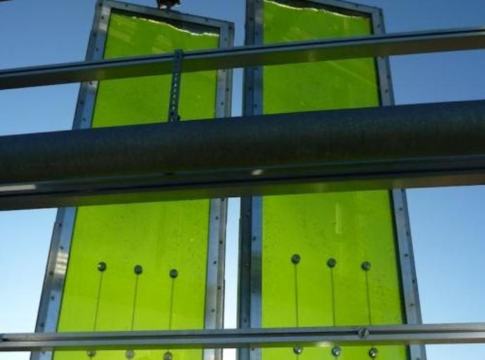 Powering Buildings With Bioreactor Algae Skin Facades