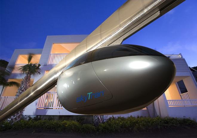 SkyTran: World's First Levitating Transit System Heads to Tel Aviv