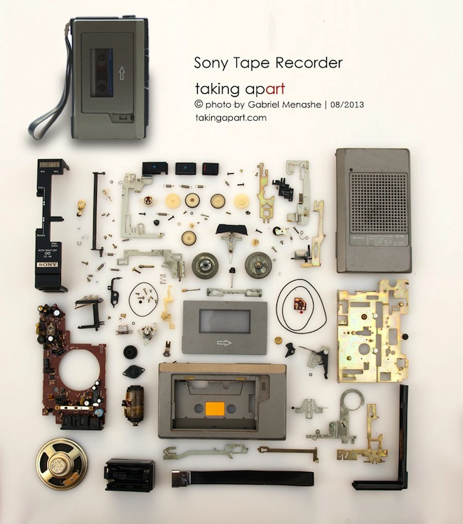Taking apart, Gabi Menashe, recycling, photography, green design, eco-art, Israeli artist
