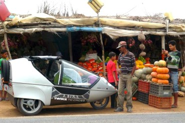 """Fly"" Through Morocco on Three Wheels with Twike Maroc"
