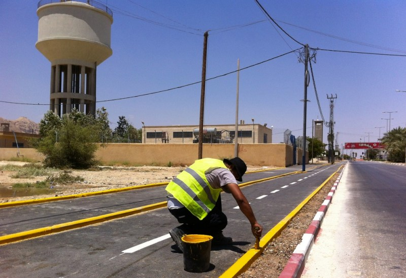 Palestine's First Bike Lane in Jericho Brings Oldest City Up to Speed