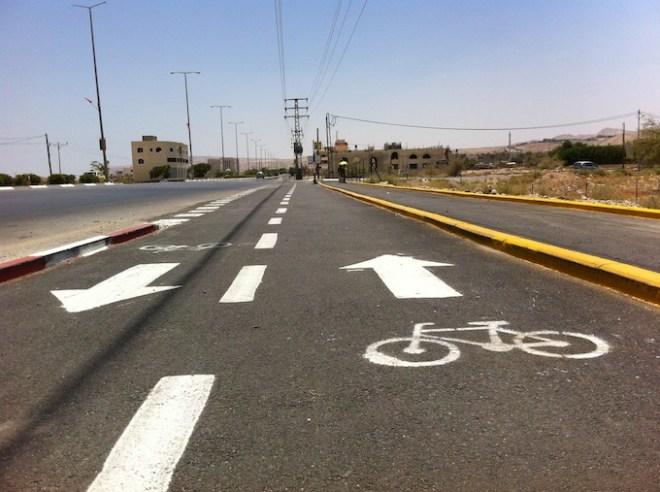 bike lane jericho jerusalem palestine