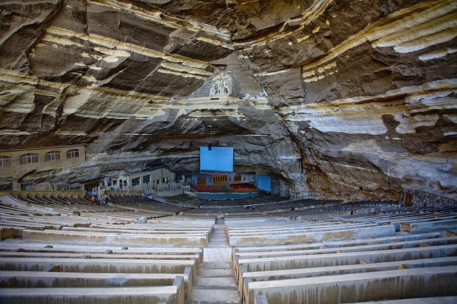 Cave Church, Mokkatam, Cairo, Egypt, Garbage City, Zabaleen, eco-tourism, travel, Egypt, Garbage City, Zabaleen