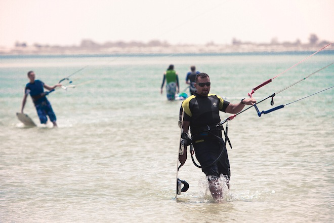 Libya, Kitesurfing, Brownbook Magazine, sports, Mediterranean Sea, lifestyle, Middle East