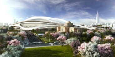 Zaha Hadid Greens Tokyo's 2020 Olympic Stadium Design