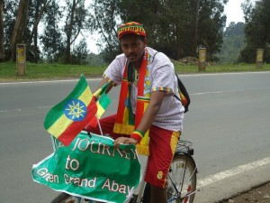 Man Bikes 500 Miles for Ethiopia's Forests