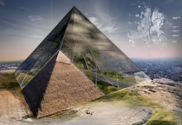 Bio-Pyramid turns Egyptian pyramid into a desert-reversing skyscraper!