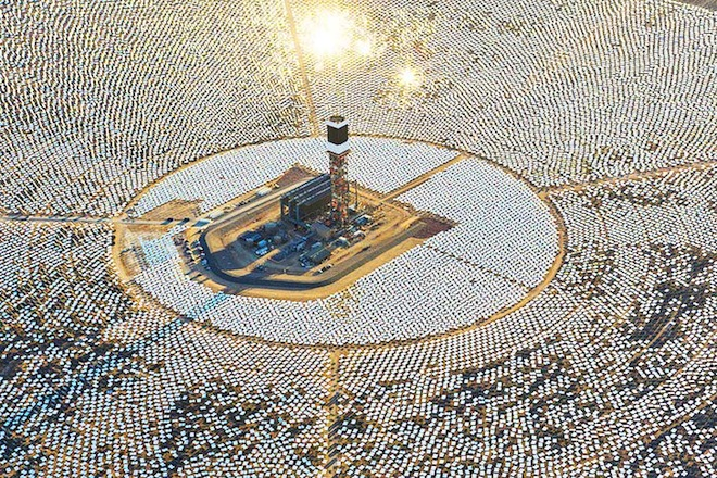 solar thermal brightsource ivanpah