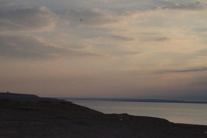 Dead Sea dusk