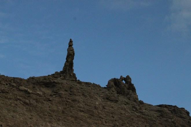 Dead Sea rock formations