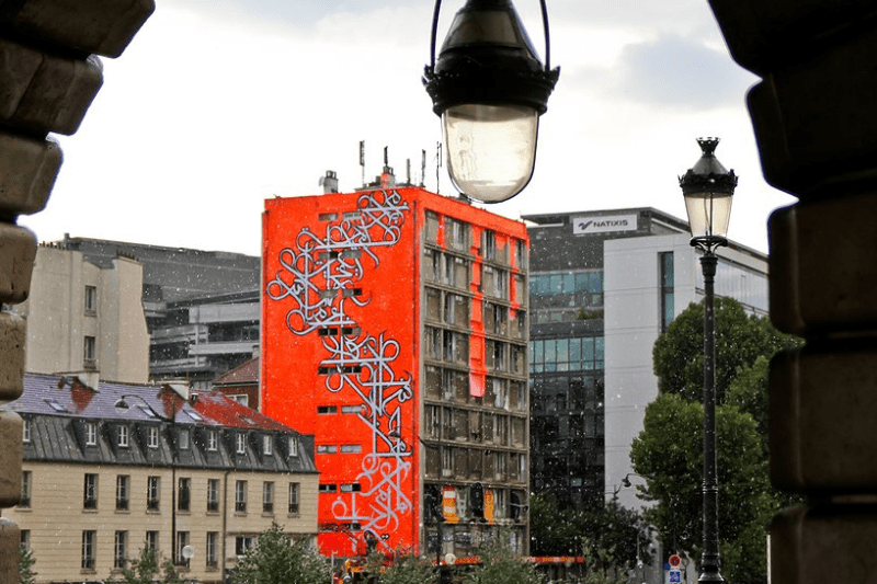 "Paris Tower ""Graffed"" by Arab Street Artists, Then Destroyed (VIDEO)"