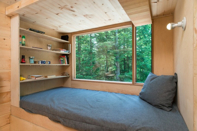 Submerge yourself in nature in a Getaway tiny home