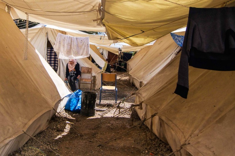 Syrian refugees list their tent on Airbnb
