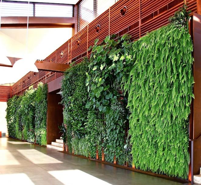 Vertical gardens in lebanon based on traditional arabia