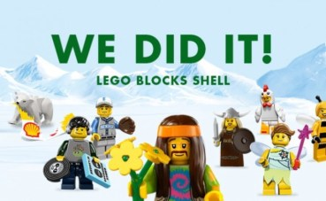 Lego ditches deal with Shell over Greenpeace oil spill video