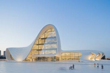 Zaha Hadid modernizes Islamic design with winning Heydar Aliyev in Azerbaijan