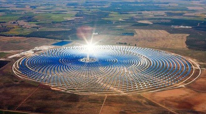 World's largest solar farm