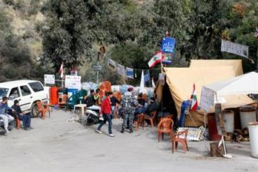 Lebanon's largest landfill gets blocked by protestors
