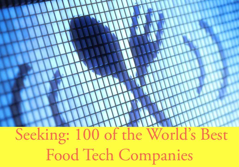 Food Tech, it's a battleground. Come pitch your startup at Google