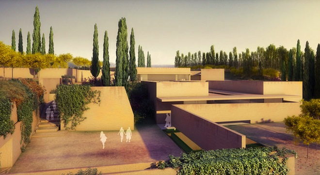 Alvaro Siza makes it easier to visit the spectacular Alhambra palace in Spain