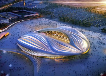 "Comparing Qatar Stadium to a Vagina is ""Ridiculous"" Says Zaha Hadid"