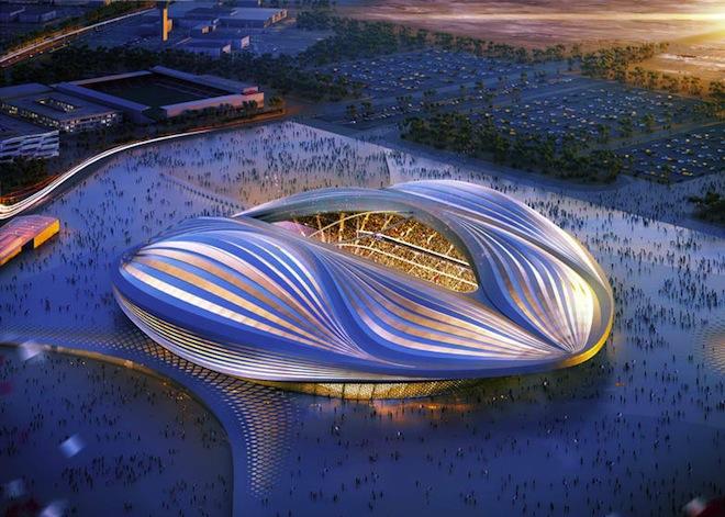 "Comparing Qatar Stadium to a Vagina is ""Ridiculous"" Says Zaha Hadid"