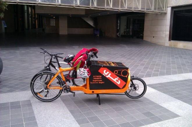 Deghri Messengers beirut bike couriers messengers