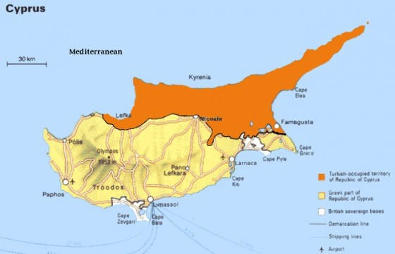 As Trees Die, Cyprus Republic Looks to Lebanon for Water Import