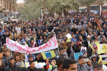 Oil fracking protestors in Algeria rise up against their regime, Total and Shell