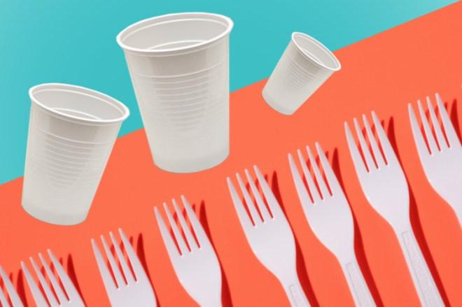 France bans plastics