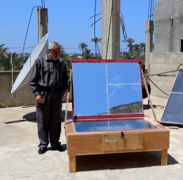 Meet the man who cooks with the sun