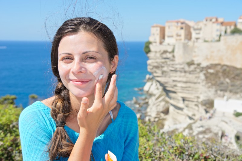 A natural tea sunscreen you can make at home