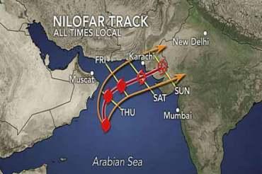Cyclone Nilofar is Oman's new meteorological nemesis