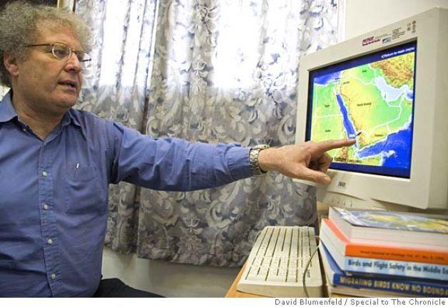 """Israel's Bird King Yossi Leshem: Jordan's Tafila Wind Farm is a """"Real Problem"""""""